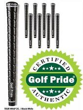 8 GOLF PRIDE Black Tour Wrap 2G STANDARD SIZE Grips Authentic from Golf Pride