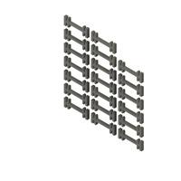 20x Schienenverbinder zubehör LGB- Lehmann 38,7mm Lang