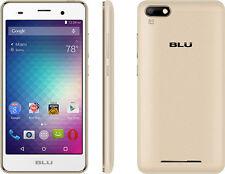 "BLU Dash X2 D110 4G H+ 5"" HD 8MP 8GB Android 6.0 Dual Sim Unlocked GSM Gold"