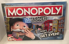 Monopoly For Sore Losers, Collect Sore Loser Coins NEW SEALED BOX