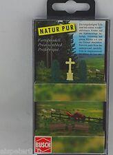 Busch 8110,Cruz de piedra y árboles vida,Escala N Modelos en miniatura Kit 1:160
