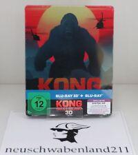 Kong: Skull Island [Steelbook] (exklusiv Amazon.de)[3D Blu-ray] [Limited Edition