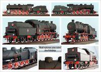Modelik 10/10  - Dampflokomotive Ty-23 (1923) 1:25 mit Lasercutteilen