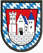 Wappen von Rottenburg an der Laaber Aufnäher Patch Pin, Aufbügler