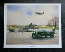 """Magnetic Attraction"" MG Magnette - MkV Spitfire by Bob Murray Art Print"