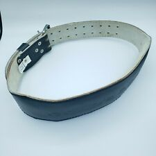 Gold's Gym Weight Power Lifting Belt Black Leather Mens L/XL Size 34 - 42