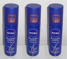 (1L=14,83€) 3x Nivea 7 Plus haarmilch Pflege-Sprühkur Feine Haarstruktur 200ml