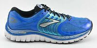 MENS BROOKS GLYCERIN 11 RUNNING SHOES SIZE 9.5 US 43 EU BLACK BLUE WHITE SILVER