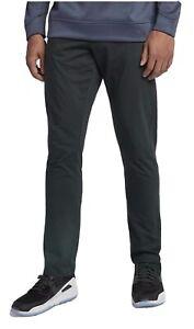 Nike Flex Men's Slim Fit 5-Pocket Golf Pants Sz 42-32 891924-010 Black Fast Ship