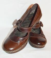 Indigo Clarks Womens Brown Mary Janes  - Size 9