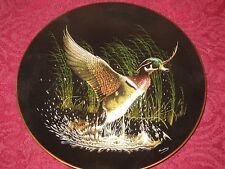 WOOD DUCK collector plate TOMMY HUMPHREY Bradford Exchange WATER BIRDS Ducks