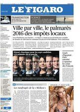 Le Figaro 19.12.2016 N°22506*IMPÔTS LOCAUX ville par ville*7 candidats de gauche