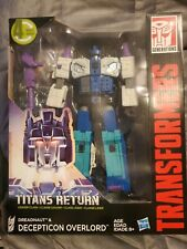 Transformers Titans Return Decepticon Overlord & Dreadnaught NIB