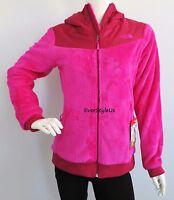 THE NORTH FACE Oso Hoodie Women's Fleece Jacket Full Zip MSRP $140 Luminous Pink