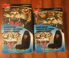 Ed Hardy Tiger Seat Cover Set Universal Bucket