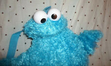 Sesame Street Backpack Cookie Monster 15' Plush Soft Toy Stuffed Animal