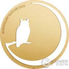 OWL Mongolian Nature Eagle Silver Coin 500 Togrog Mongolia 2016