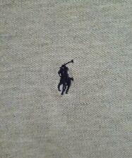 Polo Ralph Lauren XLT XL Tall Mens Mesh Shirt Gray Navy