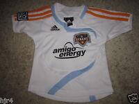 Houston Dynamo MLS Soccer Adidas Football Jersey Toddler Baby 12m