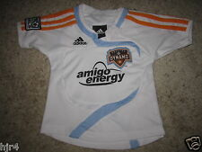 Houston Dynamo MLS Soccer Adidas Football Jersey Toddler Baby 12m