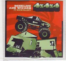 (EC629) Beekline & Wizard ft David Elliott, 4x4x4 - 2003 DJ CD
