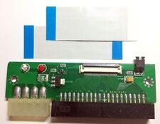 "1.8"" ZIF to 3.5"" 40pin IDE Hard Drive Adapter & 2x FFC ZIF Toshiba Hitachi Cable"