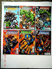 MARVEL COMICS  AVENGERS ASSEMBLE  #1-3, 5, 7-8 COMIC BOOK SET!