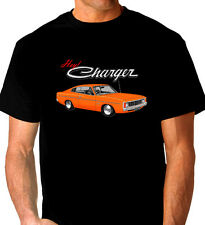 VALIANT  VJ  VK  CHARGER  265 HEMI   318  V8    QUALITY   BLACK TSHIRT