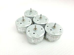 Lot 5x Mabuchi RF-500 DC Motor RF-500TB-12560 Solar Motor 1.5 to 12 VDC