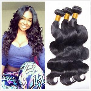 100% Unprocessed 3Bundle150g Brazilian Body Wave Human Hair Extension Hair Weft