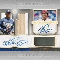 GROUP BREAK- 2021 TOPPS DEFINITIVE BASEBALL HOBBY BOX- RANDOM SERIAL # 1- 50