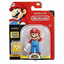 World of Nintendo ~ MARIO (WAVE 9) ACTION FIGURE ~ Super Mario Brothers (Bros.)
