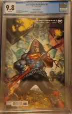 Dark Nights Death Metal #3 Doug Mahnke Superman Rock Variant 1:25 CGC 9.8