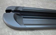 Full Black Aluminium Side Steps Running Boards for VW Amarok 2010 to 2020