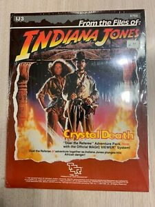 TSR INDIANA JONES CRYSTAL DEATH - BRAND NEW DUEL THE REFEREE ADVENTURE PACK