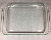 Pyrex Clear Glass 234 Rectangular Casserole Dish Baking 38x25x4cm Corning