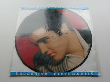 ELVIS PRESLEY PICTURE DISC LP TROUBLES MADE IN DENMARK