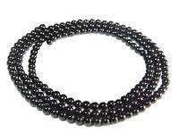 😏 Onyx Perlen 3 mm Kugeln Edelsteinperlen Strang Saatperlen Spacer für Kette 😉