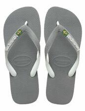 Sandalias y chanclas de mujer grises Havaianas de goma
