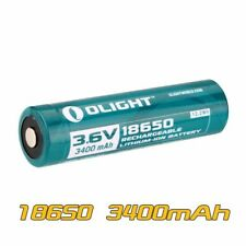 Olight 18650 3.6V 3400mAh Rechargeable Li-ion Protected Battery ORB-186L34