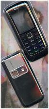 Nuevo!! Negro vivienda / Panel / cubierta / Funda Para Nokia 6151