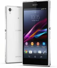 "5"" Sony Ericsson Xperia Z1 C6903 21MP GPS NFC 16GB Libre TELEFONO MOVIL Blanco"