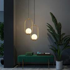Bar Lamp Room LED Pendant Light Kitchen Chandelier Lighting Glass Ceiling Lights