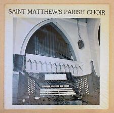 Saint Matthew's Episcopal Church Parish Choir LP New Sealed Mint Wheeling WV