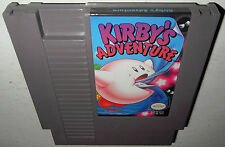 Nintendo NES Game The Original KIRBY'S ADVENTURE! Super Fun Cleaned Tested SAVES