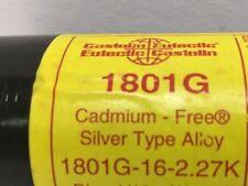 SILVER SOLDER Kit EUTETTICA 1801 G 4 BARRE x 250 mm + flusso SPEDIZIONE GRATUITA!!!