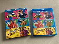 Austin Powers Triple Feature 3-Disc Blu-Ray set w/ Rare Slipcover 2012 Excellent
