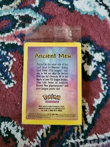 Ancient mew pokemon card sealed