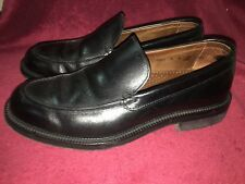 ANTICA CUOIERIA Italy Loafers  black size 9 made in Italy