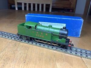 Hornby Dublo 3 Rail EDL7 LNER 0-6-2 N2 Tank 9596 Serviced/remaged boxed